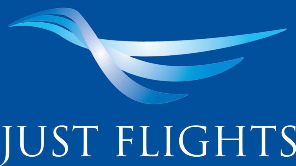 Just Flights Logo Footer